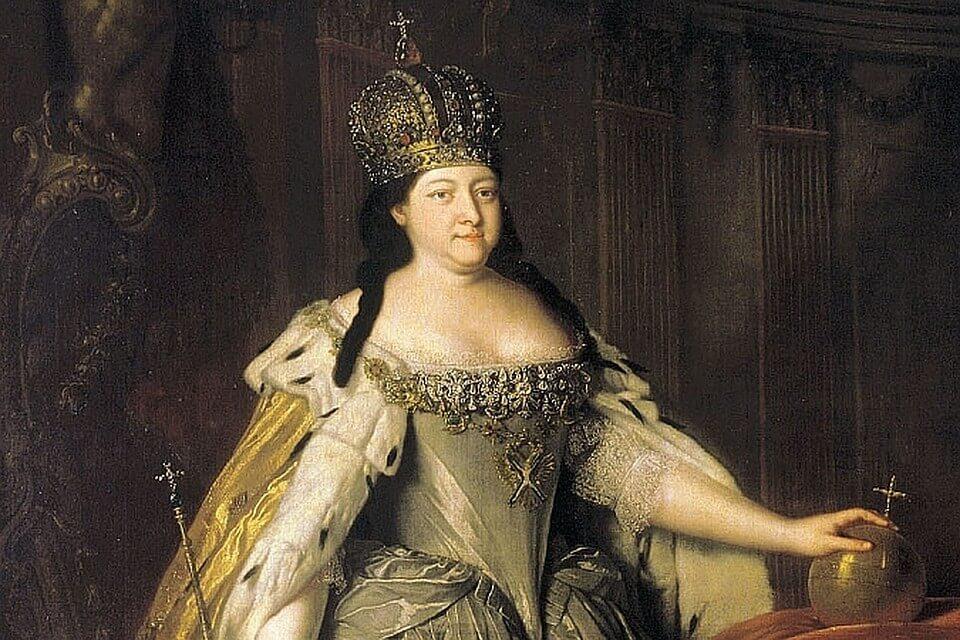 Российская императрица Анна Иоанновна Романова