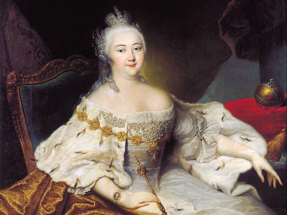 Российская императрица Елизавета I Петровна